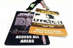Backstagepas 148x105mm liggend