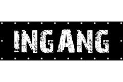 Spandoek INGANG 250 x 80 cm